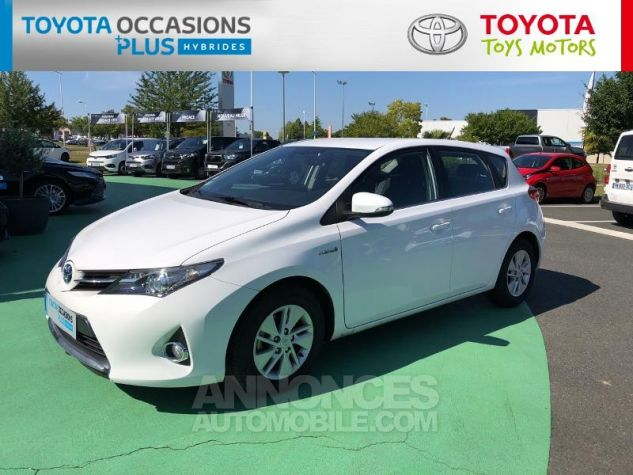Toyota AURIS HSD 136h Dynamic Blanc Occasion - 16