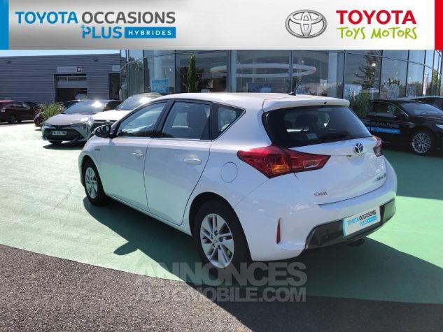 Toyota AURIS HSD 136h Dynamic Blanc Occasion - 17