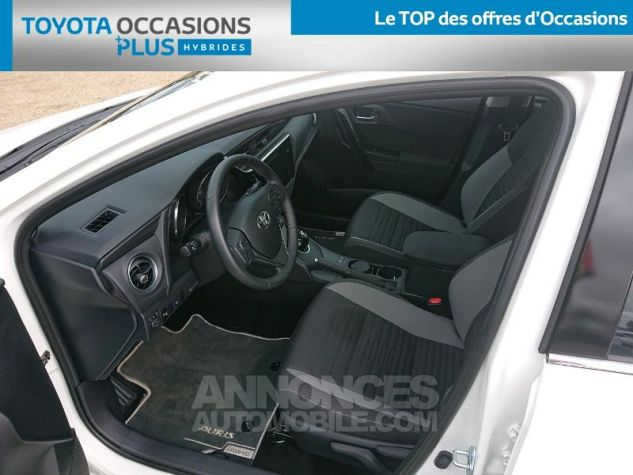 Toyota AURIS HSD 136h Dynamic Business RC18 Blanc Pur Occasion - 12