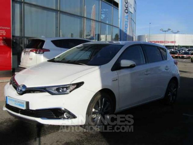Toyota AURIS HSD 136h Executive Blanc Occasion - 0