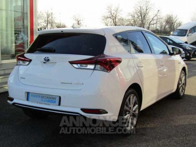 Toyota AURIS HSD 136h Executive Blanc Occasion - 6