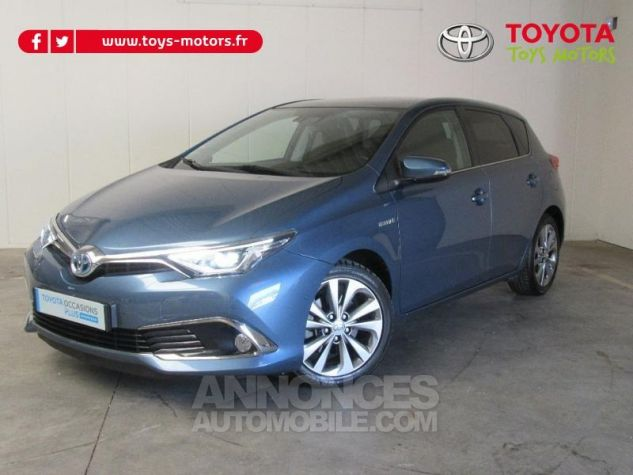 Toyota AURIS HSD 136h Executive BLEU C Occasion - 0