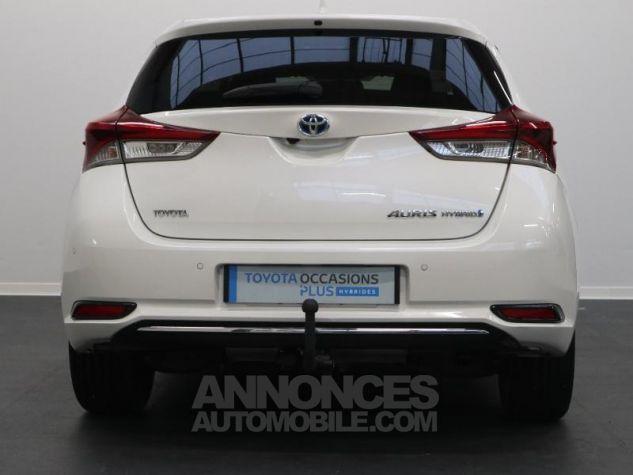 Toyota AURIS HSD 136h Executive BLANC NACRE Occasion - 1