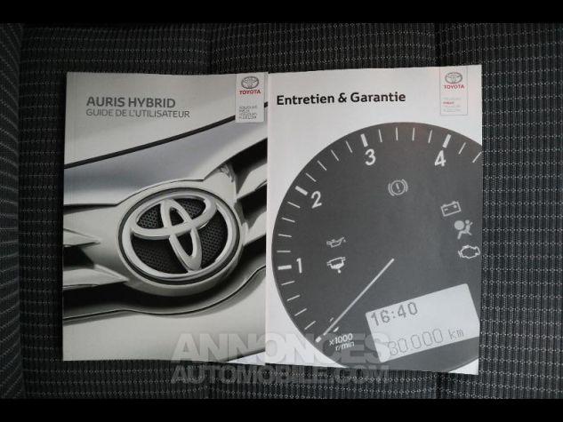 Toyota AURIS HSD 136h Executive gris Occasion - 13
