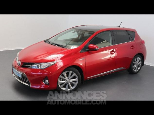 Toyota AURIS HSD 136h Style ROUGE Occasion - 0