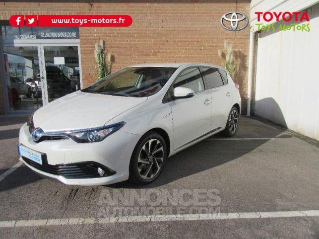 Toyota AURIS HSD 136h TechnoLine BLANC NACRE Occasion - 0