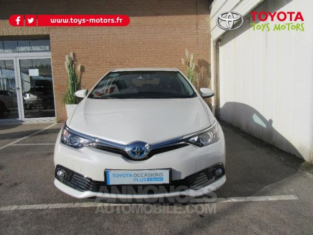 Toyota AURIS HSD 136h TechnoLine BLANC NACRE Occasion - 1