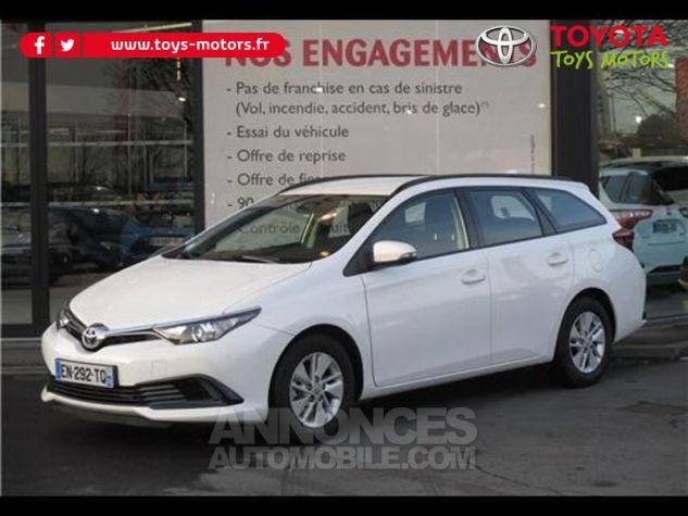 Toyota AURIS TOURING SPORTS 90 D-4D Tendance BLANC PUR Occasion - 0