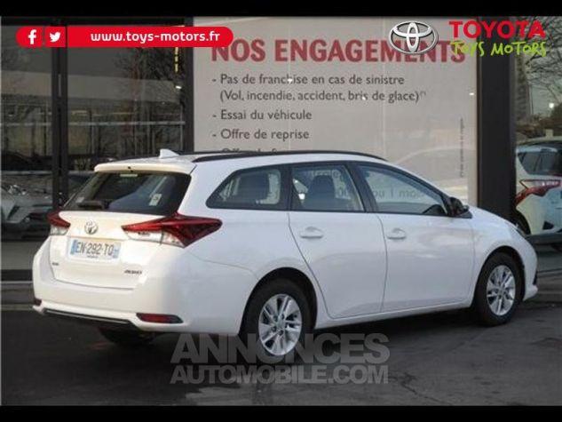 Toyota AURIS TOURING SPORTS 90 D-4D Tendance BLANC PUR Occasion - 1