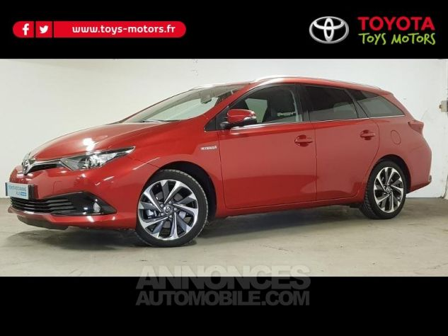 Toyota AURIS TOURING SPORTS HSD 136h Design ROUGE Occasion - 0