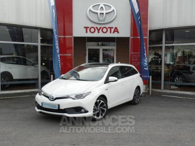 Toyota AURIS TOURING SPORTS HSD 136h Design BLANC PUR Occasion - 0