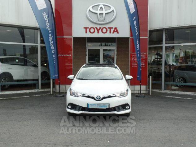 Toyota AURIS TOURING SPORTS HSD 136h Design BLANC PUR Occasion - 1