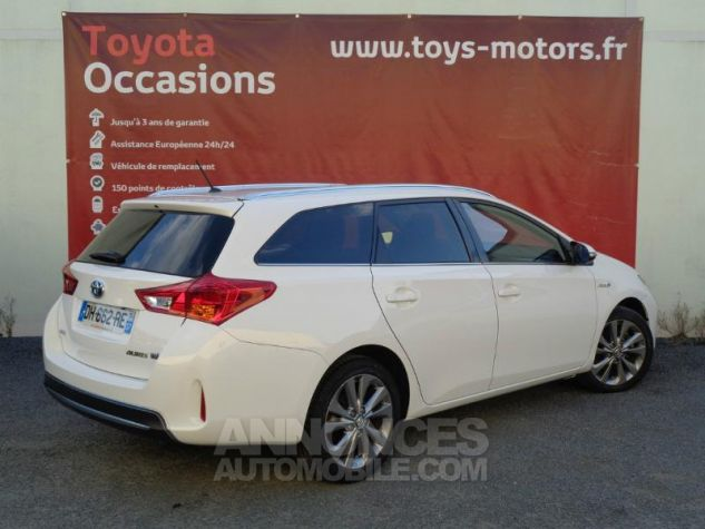 Toyota AURIS TOURING SPORTS HSD 136h Dynamic BLANC PUR Occasion - 1