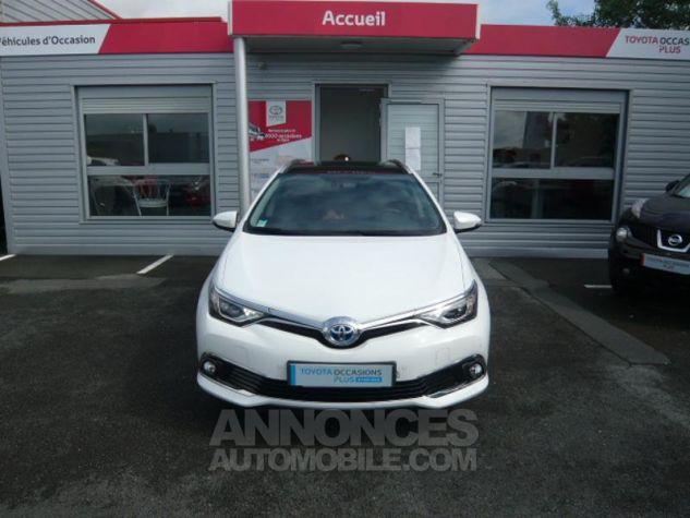Toyota AURIS TOURING SPORTS HSD 136h Executive BLANC Occasion - 5