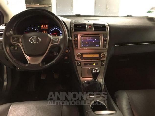 Toyota AVENSIS 150 D-4D Lounge 4p NOIR Occasion - 3