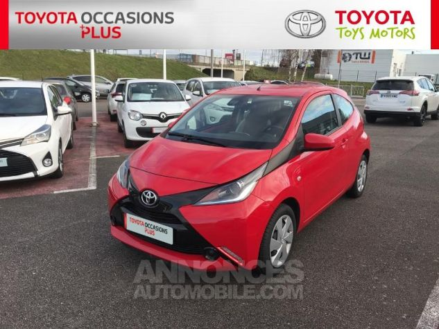 Toyota AYGO 1.0 VVT-i 69ch x-play 3p 3p0 Rouge Chilien Occasion - 19
