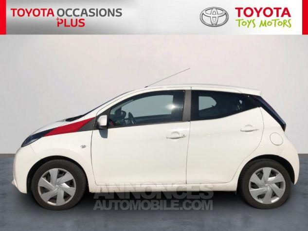Toyota AYGO 1.0 VVT-i 69ch x-play 5p Blanc Occasion - 2