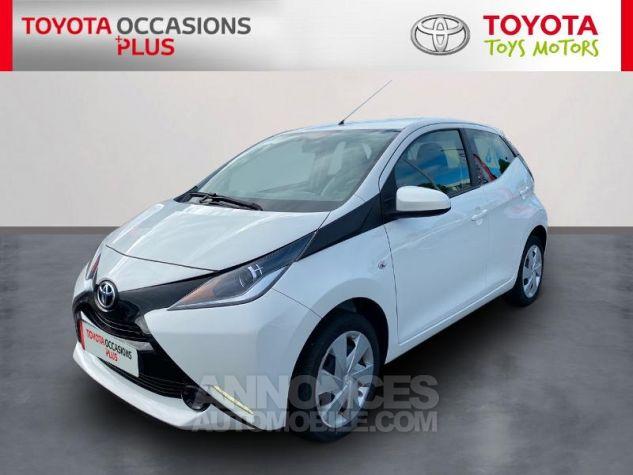 Toyota AYGO 1.0 VVT-i 69ch x-play 5p Blanc Occasion - 0