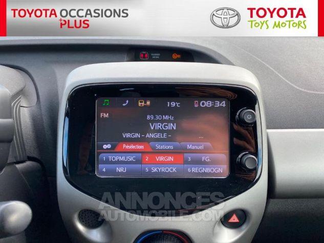 Toyota AYGO 1.0 VVT-i 69ch x-play 5p Blanc Occasion - 6