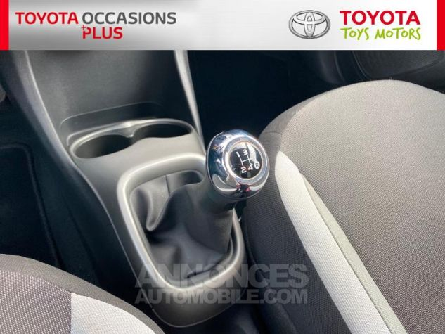 Toyota AYGO 1.0 VVT-i 69ch x-play 5p Blanc Occasion - 8