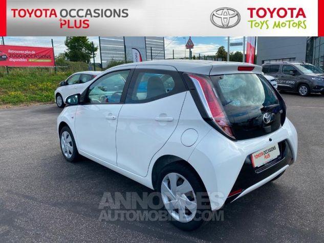 Toyota AYGO 1.0 VVT-i 69ch x-play 5p Blanc Occasion - 19
