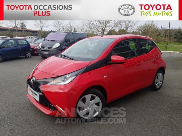 Toyota AYGO 1.0 VVT-i 69ch x-red 2018 5p Rouge Chilien Occasion - 17