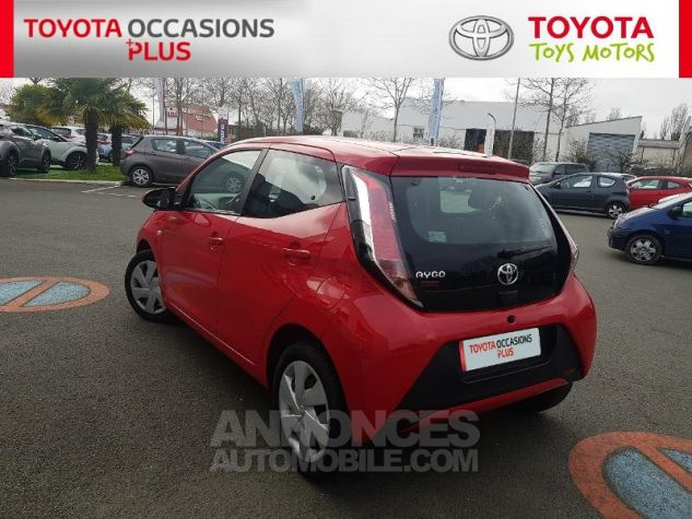 Toyota AYGO 1.0 VVT-i 69ch x-red 2018 5p Rouge Chilien Occasion - 18