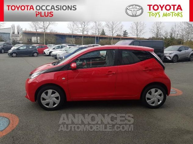 Toyota AYGO 1.0 VVT-i 69ch x-red 2018 5p Rouge Chilien Occasion - 19