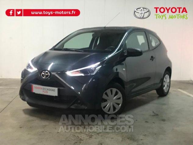 Toyota AYGO 1.0 VVT-i 72ch x-black 3p Gris Eclipse Occasion - 0