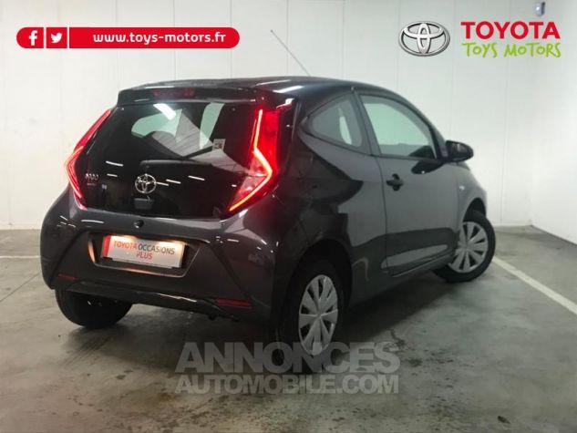 Toyota AYGO 1.0 VVT-i 72ch x-black 3p Gris Eclipse Occasion - 1