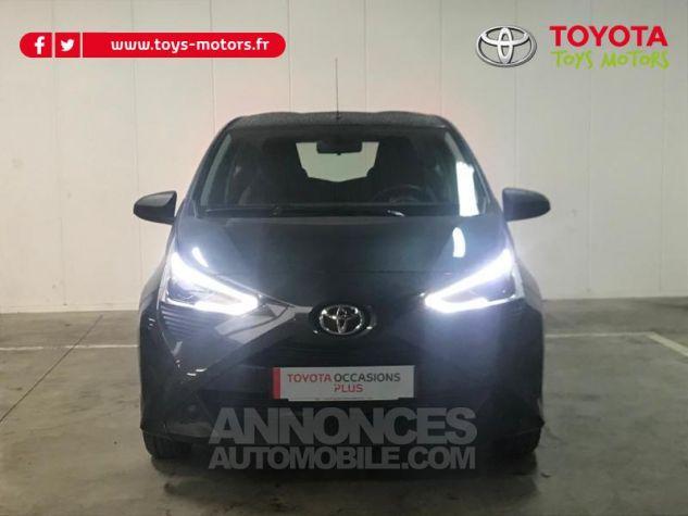 Toyota AYGO 1.0 VVT-i 72ch x-black 3p Gris Eclipse Occasion - 2