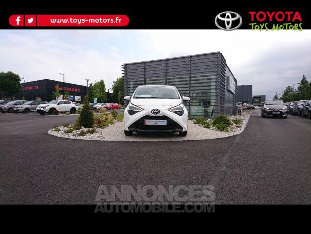 Toyota AYGO 1.0 VVT-i 72ch x-play 3p Blanc Pur Occasion - 0