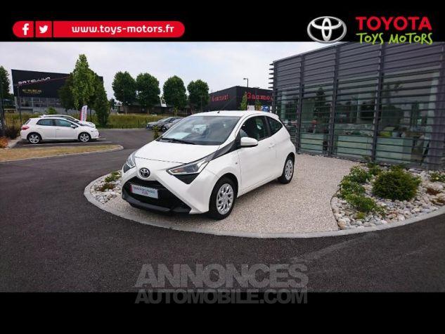 Toyota AYGO 1.0 VVT-i 72ch x-play 3p Blanc Pur Occasion - 1