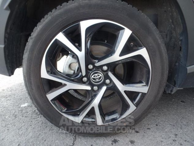 Toyota C-HR 1.2 Turbo 116ch Graphic 2WD Gris Platinium Occasion - 12