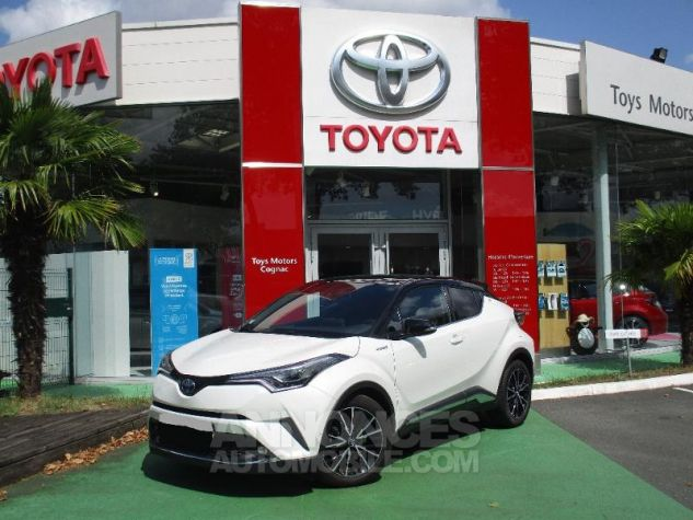Toyota C-HR 122h Collection 2WD E-CVT BI TON BLANC NACRE Occasion - 0
