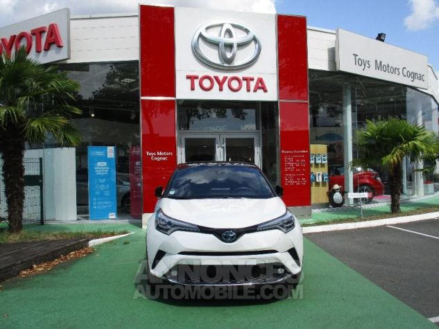 Toyota C-HR 122h Collection 2WD E-CVT BI TON BLANC NACRE Occasion - 1