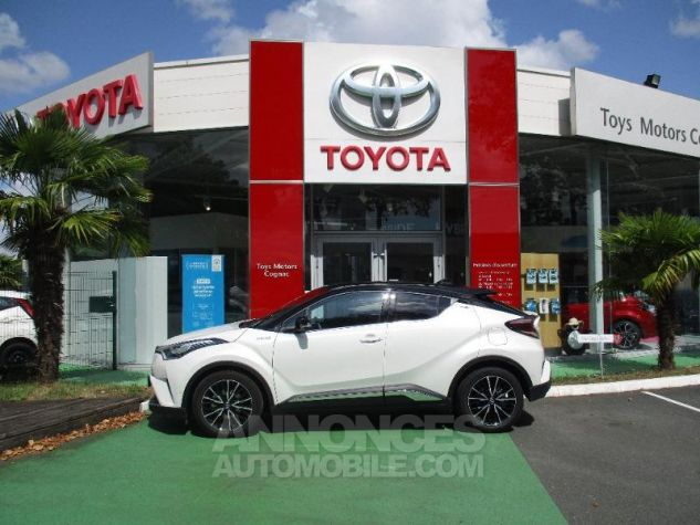 Toyota C-HR 122h Collection 2WD E-CVT BI TON BLANC NACRE Occasion - 2