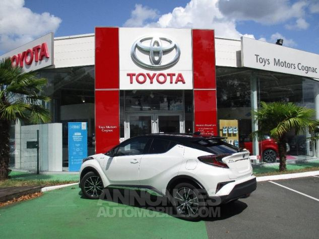 Toyota C-HR 122h Collection 2WD E-CVT BI TON BLANC NACRE Occasion - 9
