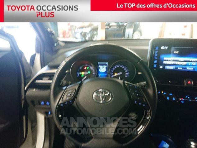 Toyota C-HR 122h Collection 2WD E-CVT RC18 Bi Ton Blanc Nacre Occasion - 3