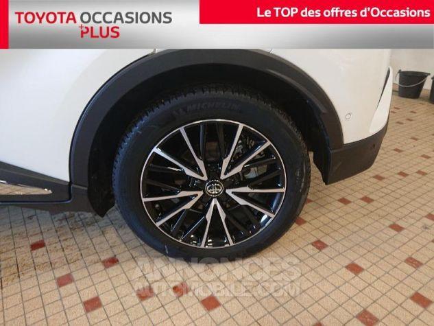 Toyota C-HR 122h Collection 2WD E-CVT RC18 Bi Ton Blanc Nacre Occasion - 4