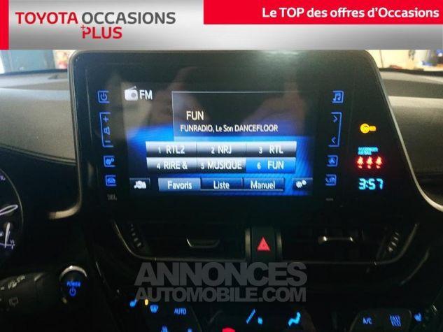 Toyota C-HR 122h Collection 2WD E-CVT RC18 Bi Ton Blanc Nacre Occasion - 6