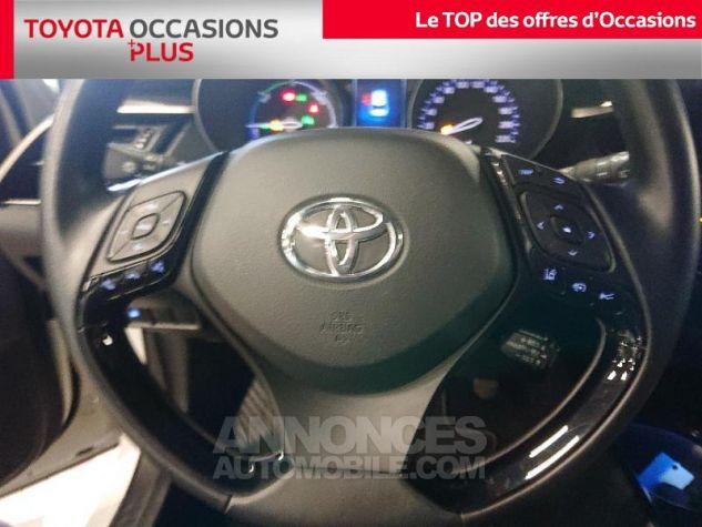 Toyota C-HR 122h Collection 2WD E-CVT RC18 Bi Ton Blanc Nacre Occasion - 9