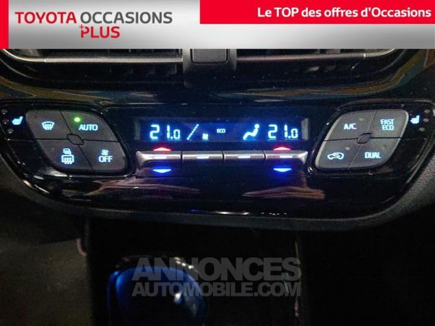Toyota C-HR 122h Collection 2WD E-CVT RC18 Bi Ton Blanc Nacre Occasion - 10