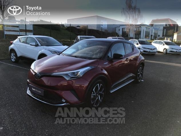 Toyota C-HR 122h Collection 2WD E-CVT RC18 Rouge Allure Occasion - 17