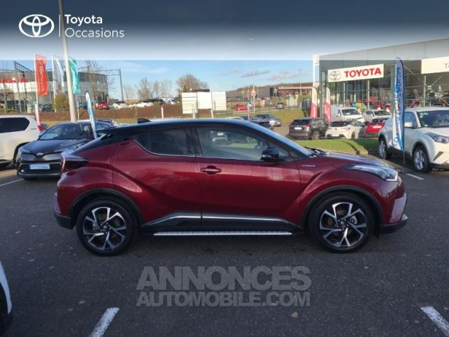 Toyota C-HR 122h Collection 2WD E-CVT RC18 Rouge Allure Occasion - 19
