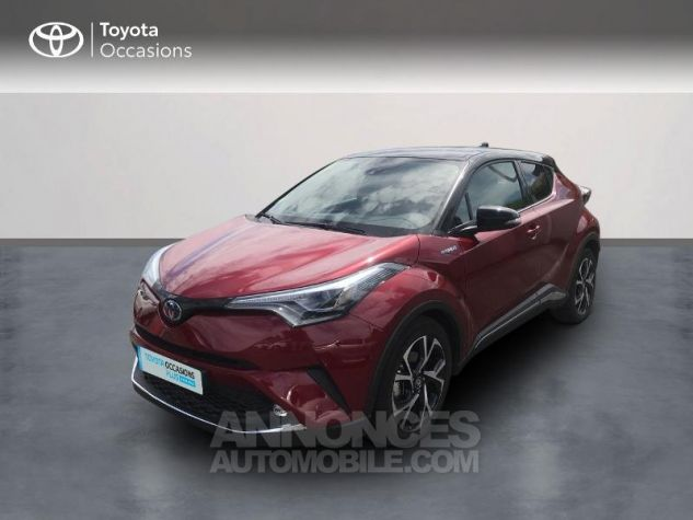 Toyota C-HR 122h Collection 2WD E-CVT RC18 Rouge Occasion - 0