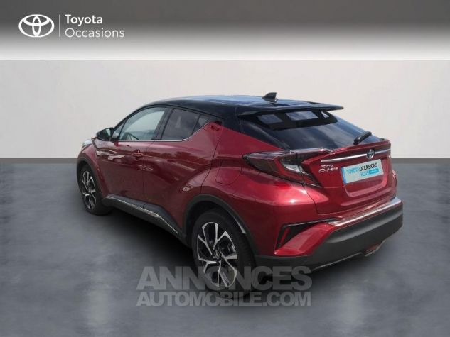 Toyota C-HR 122h Collection 2WD E-CVT RC18 Rouge Occasion - 1