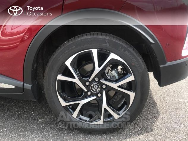 Toyota C-HR 122h Collection 2WD E-CVT RC18 Rouge Occasion - 3