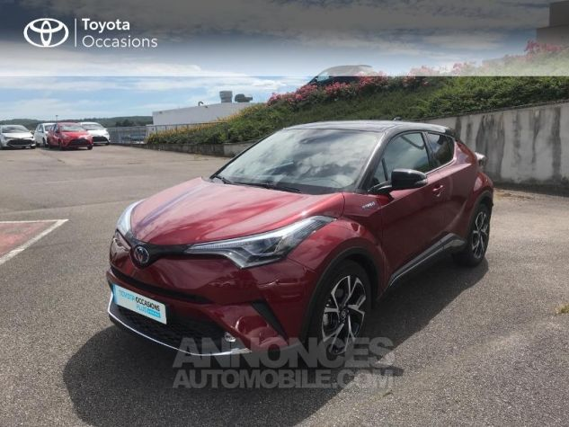 Toyota C-HR 122h Collection 2WD E-CVT RC18 Rouge Occasion - 19