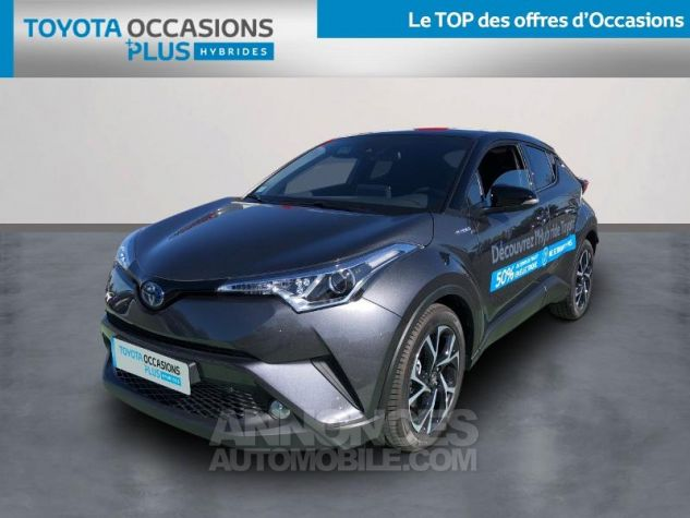 Toyota C-HR 122h Design 2WD E-CVT RC18 BI TON GRIS ATLAS Occasion - 0